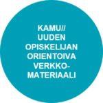 Kamu//uuden opiskelijan orientaoiva verkkomateriaali