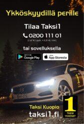 Taksikyytiä