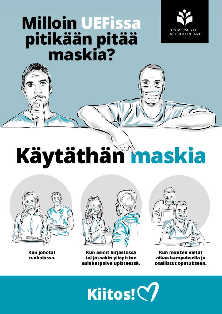 , Muistathan käyttää maskia, UEF Kamu