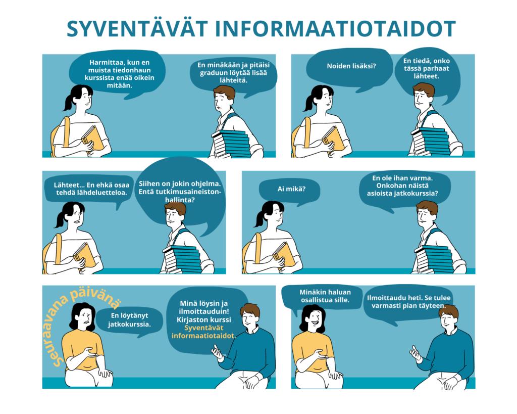Syventävät Informaatiotaidot
